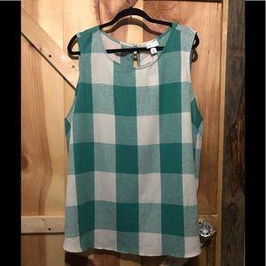 Ladies sleeveless casual top